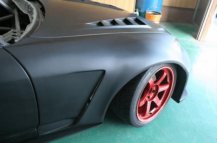 S2000 AP1/2 外装 エアロパーツ フェンダー Car Garage amis 55mm フロントワイドフェンダーFRP