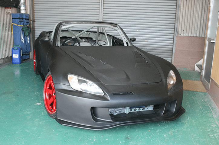 S2000 AP1/2 外装 エアロパーツ フロントバンパー Car Garage amis 55mm ワイド用 フロントバンパー