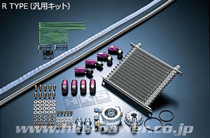 S2000 AP1/2 冷却系 オイルクーラー オイルクーラー本体 HKS オイルクーラー