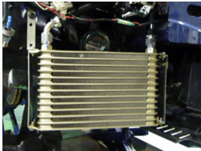 86 (ハチロク) 冷却系 オイルクーラー オイルクーラー本体 LEG MOTOR SPORT シングルサイドオイルクーラー
