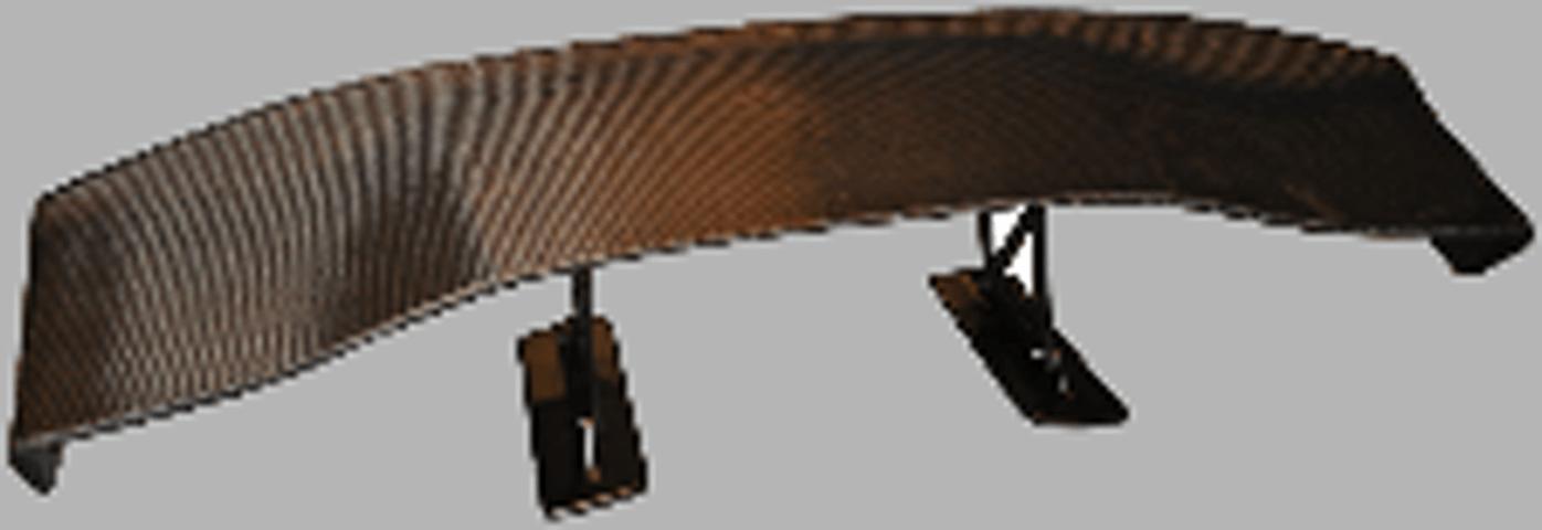 86 (ハチロク) 外装 エアロパーツ リアスポイラー/ウイング LUCK GTウイング