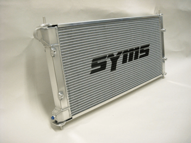 BRZ 冷却系 ラジエター ラジエター本体 Syms Racing(シムスレーシング) SYMS TWO LEVELS ALUMINUM RADIATOR / WATER TEMPERATURE SENSOR INSTALLATION UNIT