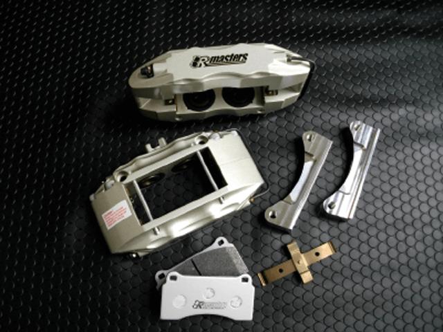 CR-Z ブレーキ ブレーキキャリパー ブレーキキャリパー本体 制動屋 R-MASTER4ポッドキャリパーキット&RM551パッド