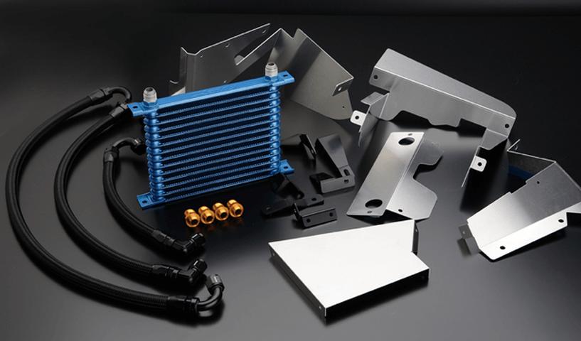 CR-Z 冷却系 オイルクーラー オイルクーラー本体 トラスト オイルクーラー