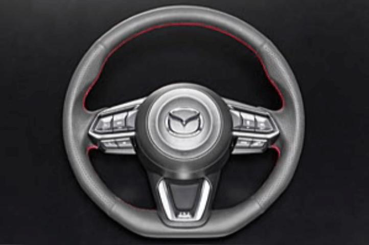 CX-3 内装 ステアリング ステアリング(本体) オートエクゼ スポーツステアリング