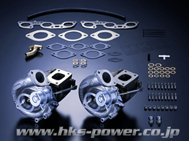 R32 スカイライン GT-R エンジン ターボチャージャー タービン(本体/キット) HKS HKS・GT-SSタービン