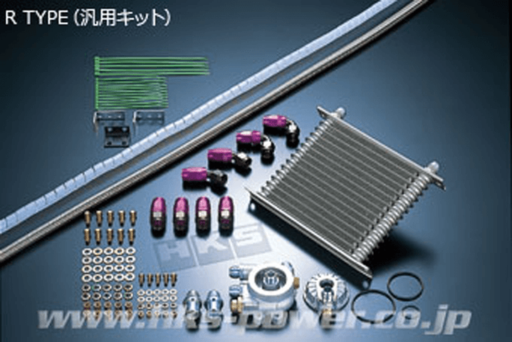 R32 スカイライン GT-R 冷却系 オイルクーラー オイルクーラー本体 HKS オイルクーラー