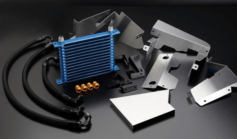 R32 スカイライン GT-R 冷却系 オイルクーラー オイルクーラー本体 トラスト オイルクーラー