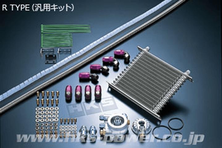 R34 スカイライン GT-R 冷却系 オイルクーラー オイルクーラー本体 HKS オイルクーラー