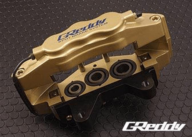 R33 スカイライン GT-R ブレーキ ブレーキキャリパー ブレーキキャリパー本体 トラスト GReddyキャリパー(F:6ポットR:4ポット)