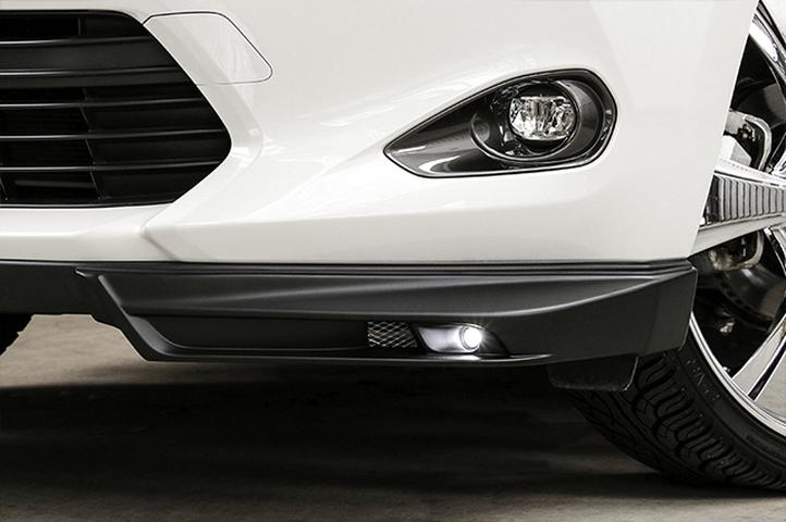 60/65 ハリアー 外装 エアロパーツ フロントリップスポイラー ケンスタイル LEDフロントコーナースポイラー