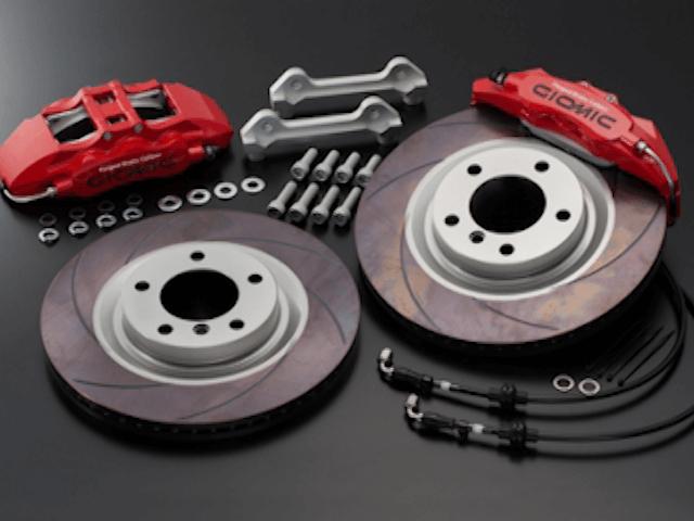 Mini R55/56/57 ブレーキ ブレーキキャリパー ブレーキキャリパー本体 GIOMIC システムアップ・ブレーキキット・F