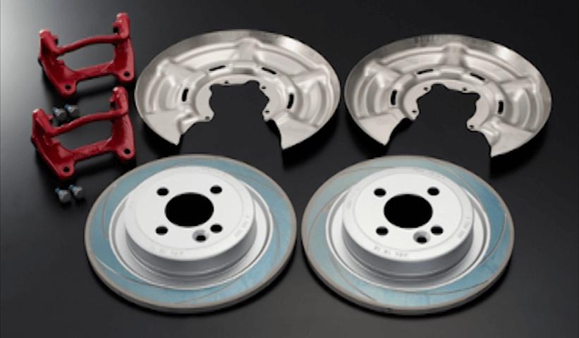 Mini R55/56/57 ブレーキ ブレーキキャリパー ブレーキキャリパー本体 GIOMIC リア・ブレーキ・アップグレード・キット