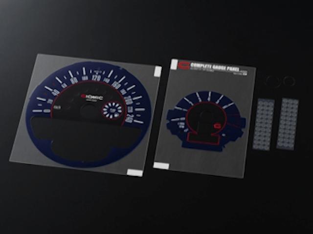 Mini R55/56/57 内装 計器 メーターフード/カバー GIOMIC コンプリート・ゲージ・パネル
