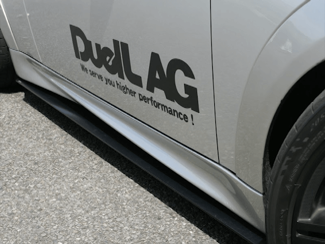 Mini R55/56/57 外装 エアロパーツ その他 DuelL AG DuelL AG Krone Edition R56 Side Diffuser Ver1.1/1.2