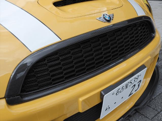 Mini R55/56/57 外装 エアロパーツ フロントグリル DuelL AG DuelL AG Krone Edition Carbon Grill Frame