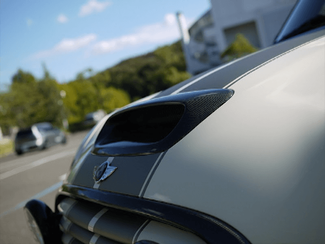 Mini R55/56/57 外装 エアロパーツ その他 DuelL AG DuelL AG Krone Edition Bonnet Scoop
