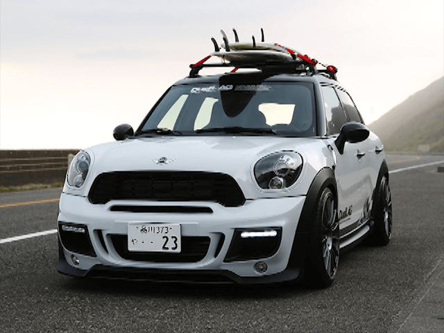 MINI R60 Crossover / Countryman 外装 エアロパーツ フロントバンパー DuelL AG DuelL AG Krone Edition R60 Front Bumper Ver.1.1