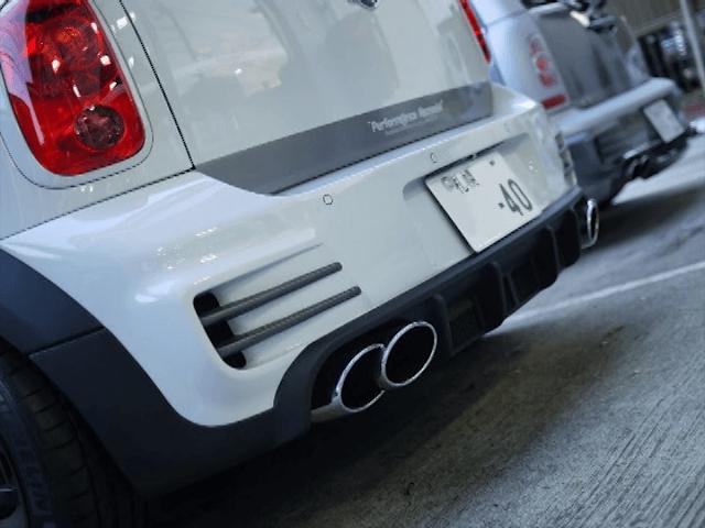 MINI R60 Crossover / Countryman 外装 エアロパーツ リアバンパー DuelL AG DuelL AG Krone Edition R60 Rear Bumepr