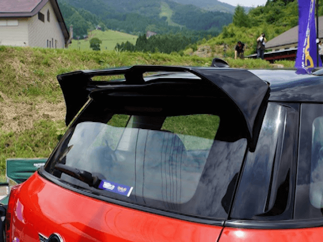 MINI R60 Crossover / Countryman 外装 エアロパーツ リアスポイラー/ウイング DuelL AG DuelL AG Krone Edition R60 Roof Spoiler Ver.1.1/1.2/1.3