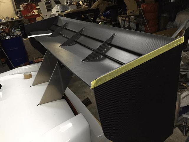 NSX 外装 エアロパーツ リアスポイラー/ウイング VOLTEX(ボルテックス) タイプⅡウイング