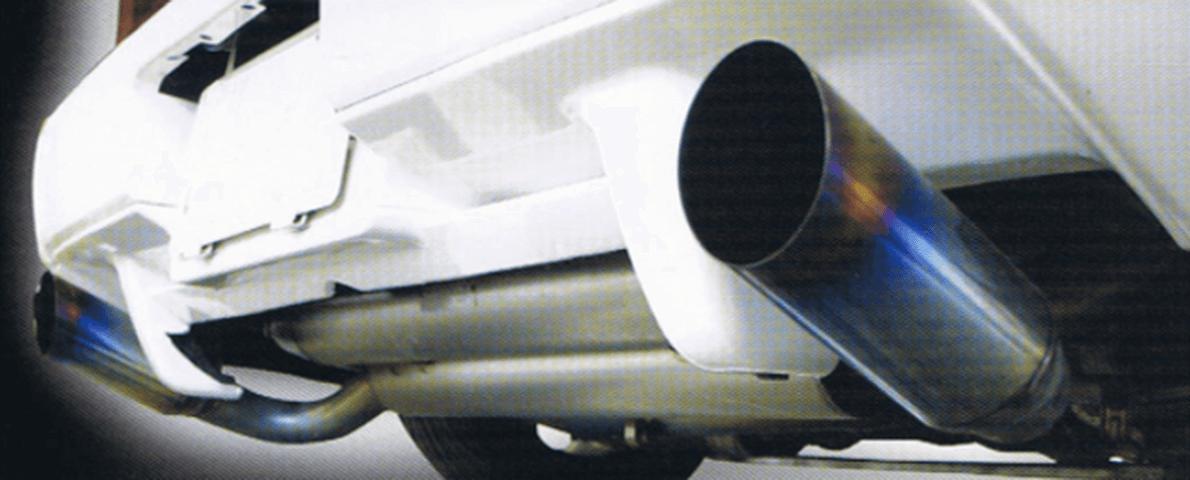 NSX 排気系 マフラー マフラー本体 ADVANCE フラットアウトGTチタンマフラー