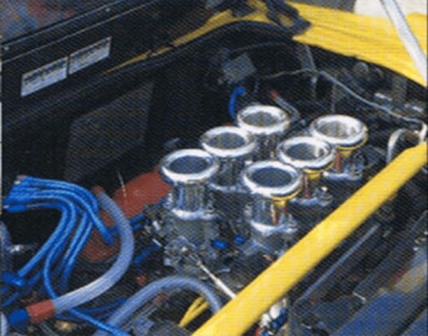 NSX 吸気系 スロットルバルブ スロットルバルブ本体 ADVANCE 6連スロットル