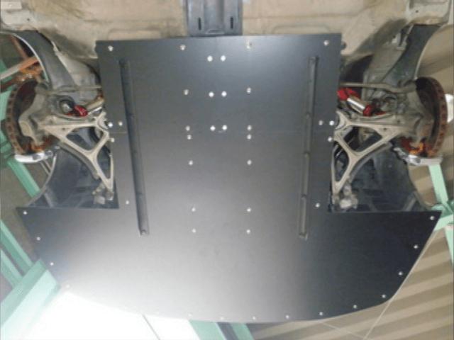 NSX 外装 エアロパーツ アンダーパネル ADVANCE ワンオフアンダーパネル