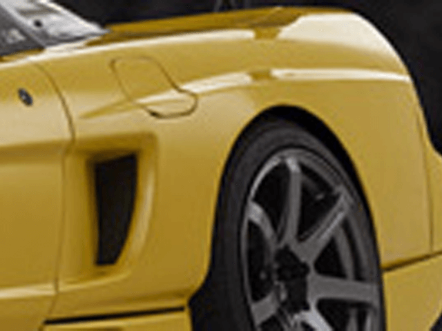 NSX 外装 エアロパーツ フェンダー マルガヒルズ リヤフェンダー