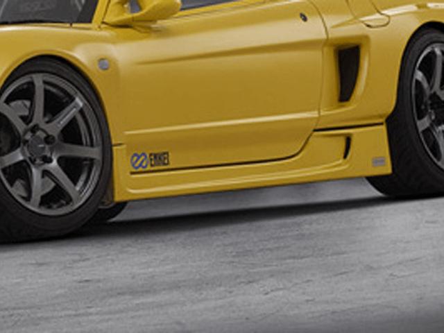 NSX 外装 エアロパーツ サイドステップ ADVANCE FLATOUTサイドステップ