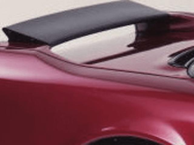 NSX 外装 エアロパーツ リアスポイラー/ウイング BACK YARD SPECIAL リヤカーボンフラップ
