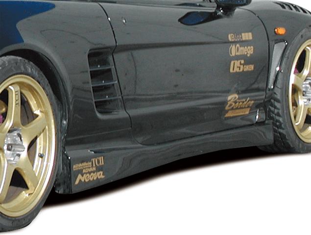 NSX 外装 エアロパーツ サイドステップ BORDER Racing サイドステップ