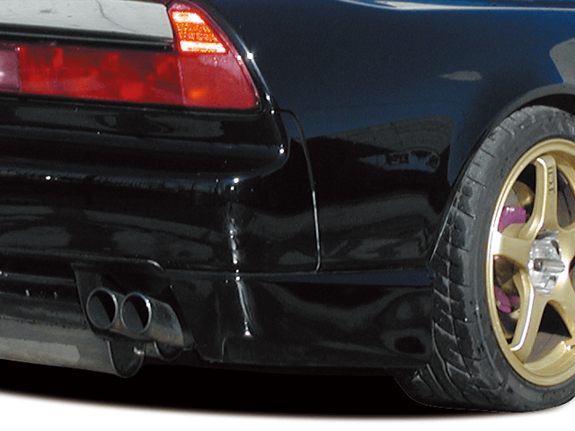 NSX 外装 エアロパーツ リアディフューザー BORDER Racing リアサイドディフューザー