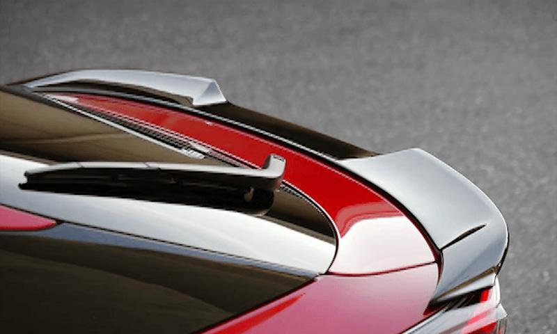 50 プリウス 外装 エアロパーツ リアスポイラー/ウイング WALD トランクスポイラー
