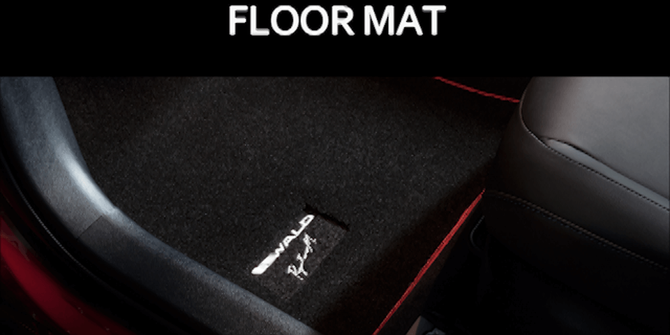 50 プリウス 内装 フロアマット フロアマット(本体) WALD FLOOR MAT