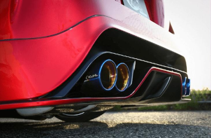 50 プリウス 外装 エアロパーツ リアディフューザー Kuhl Racing(クールレーシング) エアロ リアフローティングディフューザー
