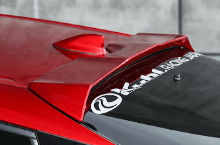 50 プリウス 外装 エアロパーツ リアスポイラー/ウイング Kuhl Racing(クールレーシング) エアロ ルーフエンドスポイラー