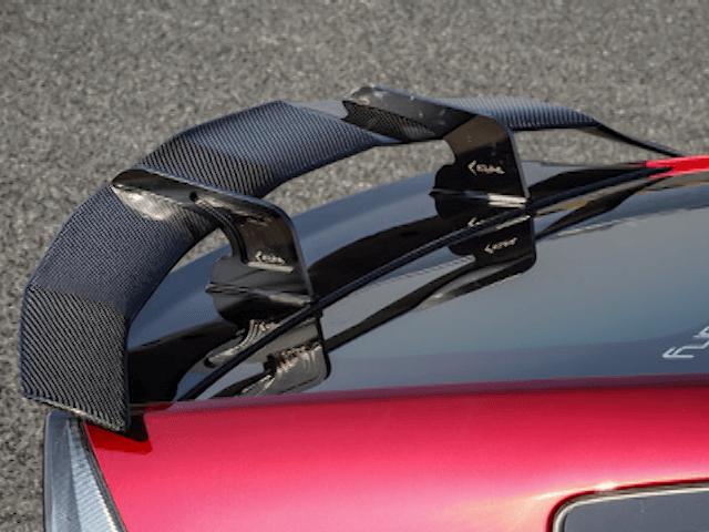 30 プリウス 外装 エアロパーツ リアスポイラー/ウイング Kuhl Racing(クールレーシング) スワンネックGTウイング