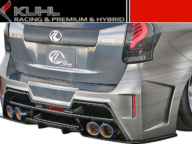 プリウスアルファ α 排気系 マフラー マフラー本体 Kuhl Racing(クールレーシング) スラッシュ4テールマフラー