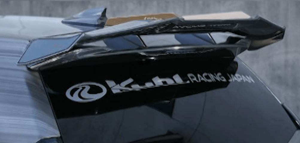 プリウスアルファ α 外装 エアロパーツ リアスポイラー/ウイング Kuhl Racing(クールレーシング) Ver.2 スワンネックGTウイング