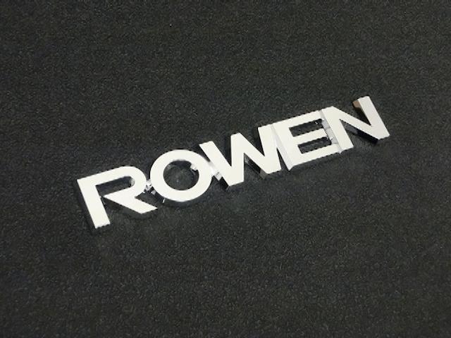 プリウスアルファ α 外装 エアロパーツ その他 ROWEN(ローウェン) ROWEN リヤエンブレム(Chrome)