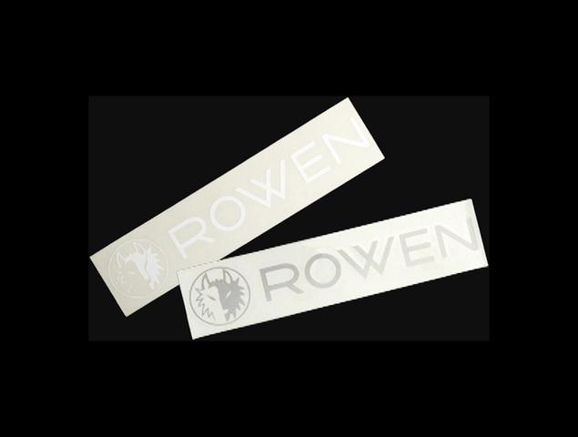 プリウスアルファ α 外装 エアロパーツ その他 ROWEN(ローウェン) ROWEN ステッカー ver2