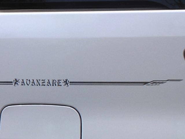 30 プリウス 外装 エンブレム・デカール・バイナル エンブレム・デカール・バイナル本体 AVANZARE ピンストライプ