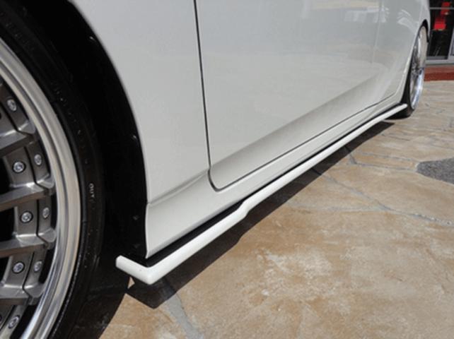 50 プリウス 外装 エアロパーツ サイドステップ オカダエンタープライズ サイドフラップ