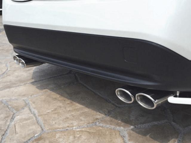 50 プリウス 外装 エアロパーツ リアアンダースポイラー オカダエンタープライズ リアアンダーフラップ