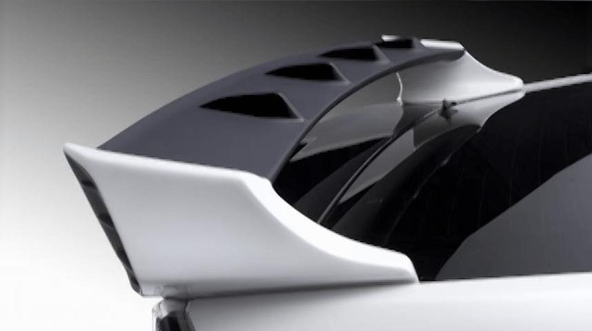 50 プリウス 外装 エアロパーツ リアスポイラー/ウイング AMS リアウイング