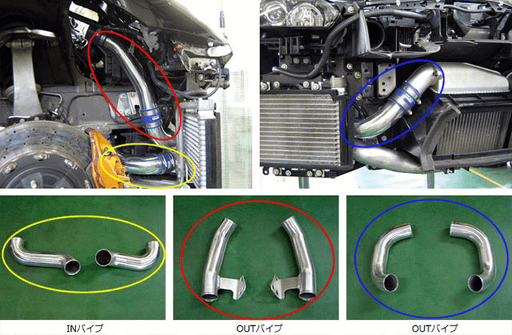 R35 GT-R 吸気系 その他 その他 HKS インタークーラーパイピングキット