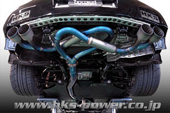R35 GT-R 排気系 マフラー マフラー本体 HKS スペリオールスペックRマフラー