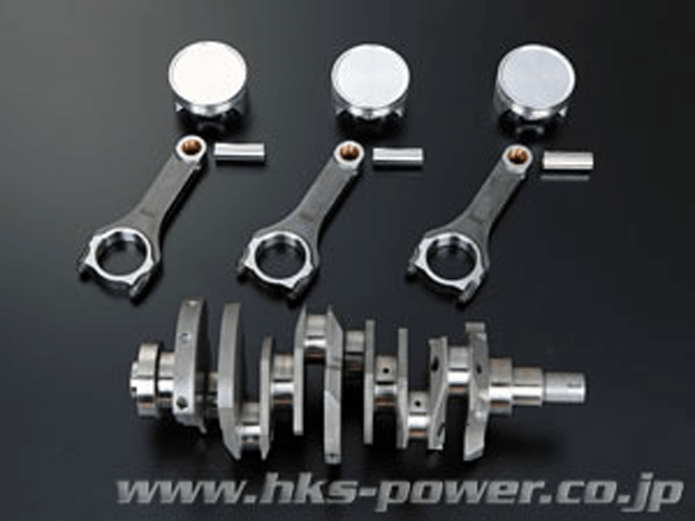 R35 GT-R エンジン エンジンその他 その他 HKS 4.1Lキット(鍛造ピストン・H断面コンロッド・削り出しクランク)