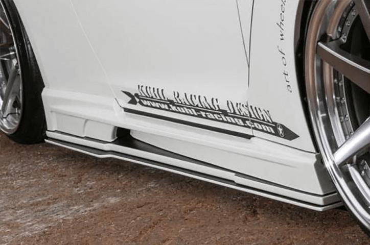R35 GT-R 外装 エアロパーツ サイドステップ Kuhl Racing(クールレーシング) GTサイドステップディフューザー